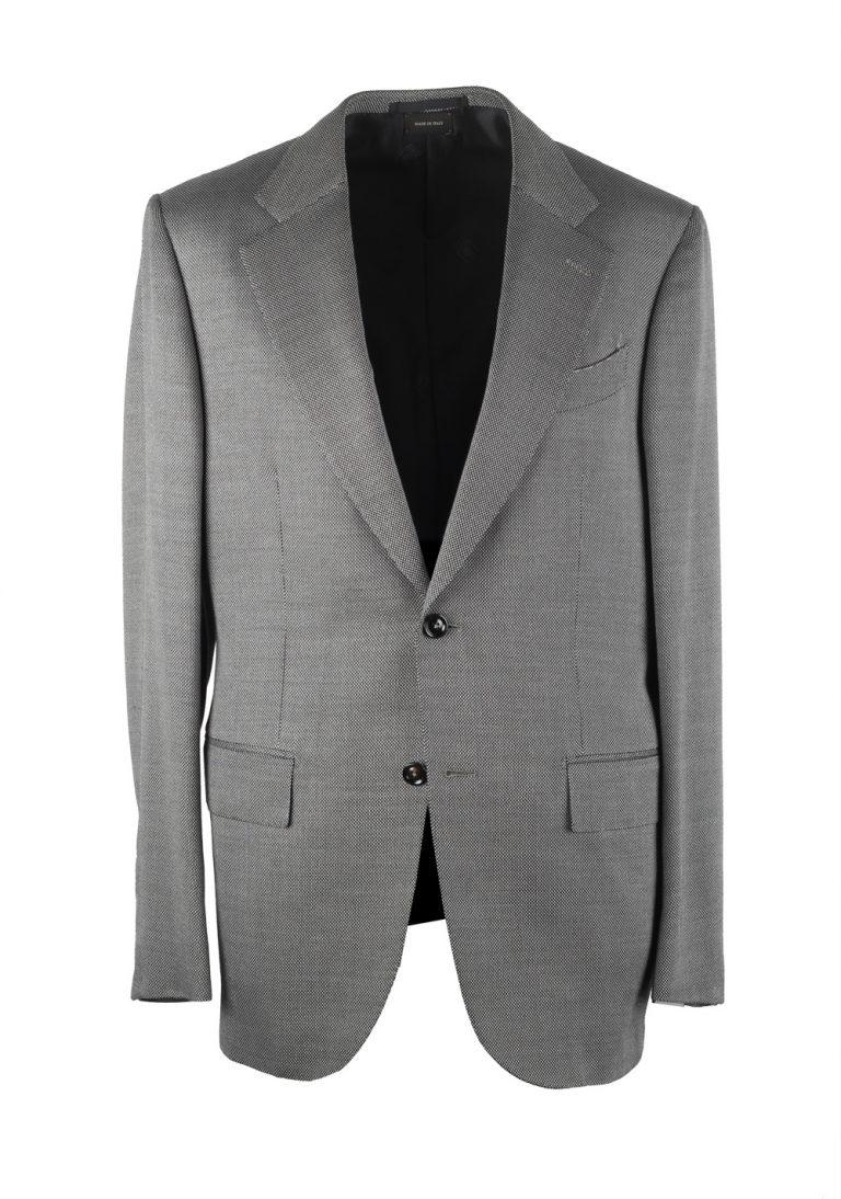 Ermenegildo Zegna Premium Couture Gray Sport Coat Size 50 / 40R U.S. - thumbnail | Costume Limité