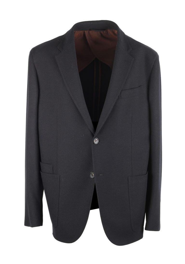 Ermenegildo Zegna Trofeo Cashmere Black Sport Coat Size 56 / 46R U.S. - thumbnail | Costume Limité