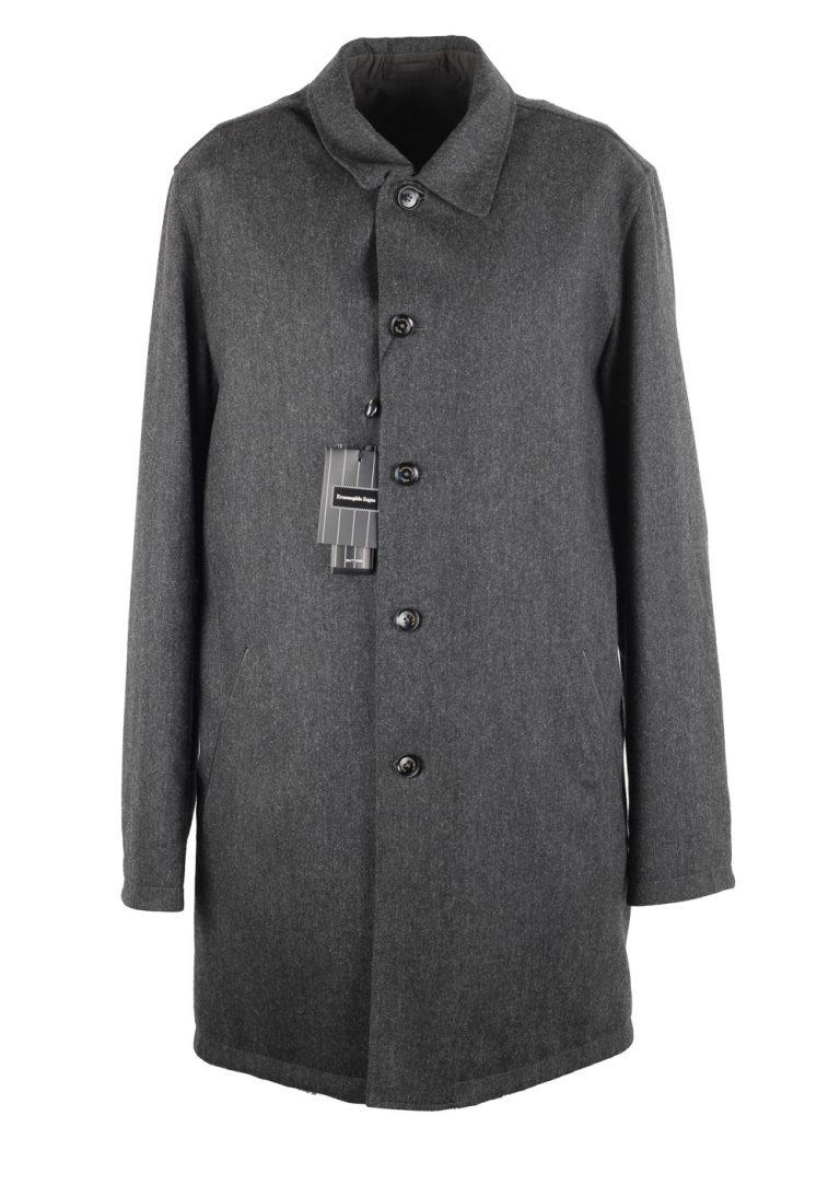 Ermenegildo Zegna Gray Reversible Coat Size 50 / 40R U.S. - thumbnail | Costume Limité