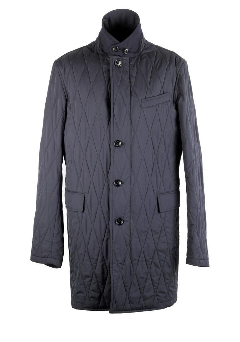 Ermenegildo Zegna Blue Rain Coat Size 52 / 42R U.S. - thumbnail | Costume Limité