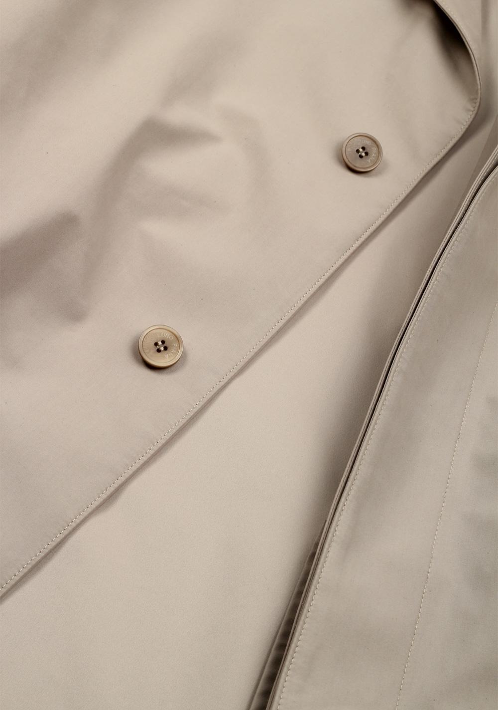 Loro Piana Beige Storm System Rain Coat Size Xl Outerwear | Costume Limité