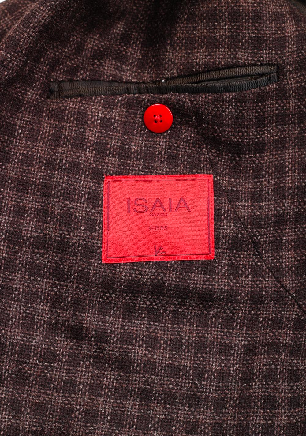 Isaia Napoli Brown Sailor Sport Coat Size 50 / 40R U.S. | Costume Limité