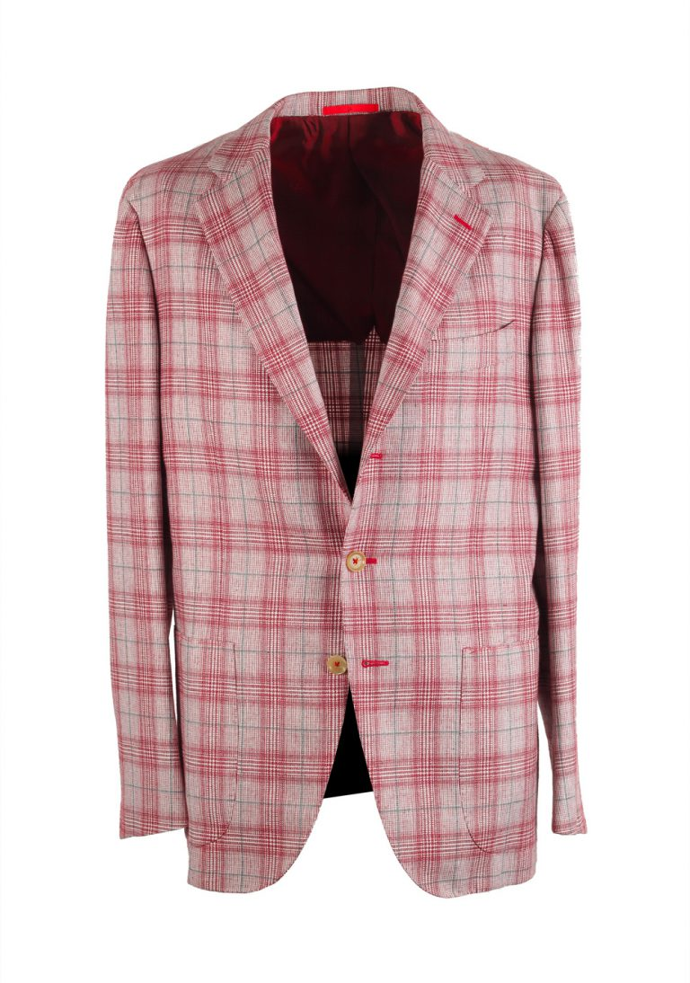 Isaia Napoli Red Sailor Sport Coat Size 52 / 42R U.S. - thumbnail | Costume Limité