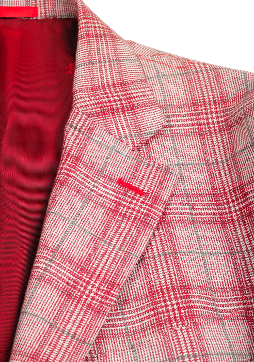 Isaia Napoli Red Sailor Sport Coat Size 52 / 42R U.S. | Costume Limité