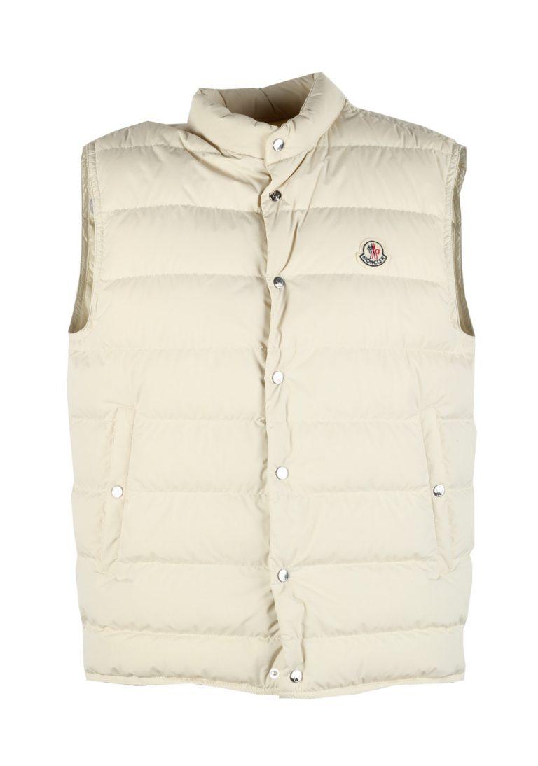 Moncler Blue Febe Gilet Vest Size 4 / L / 52 / 42 U.S. - thumbnail | Costume Limité