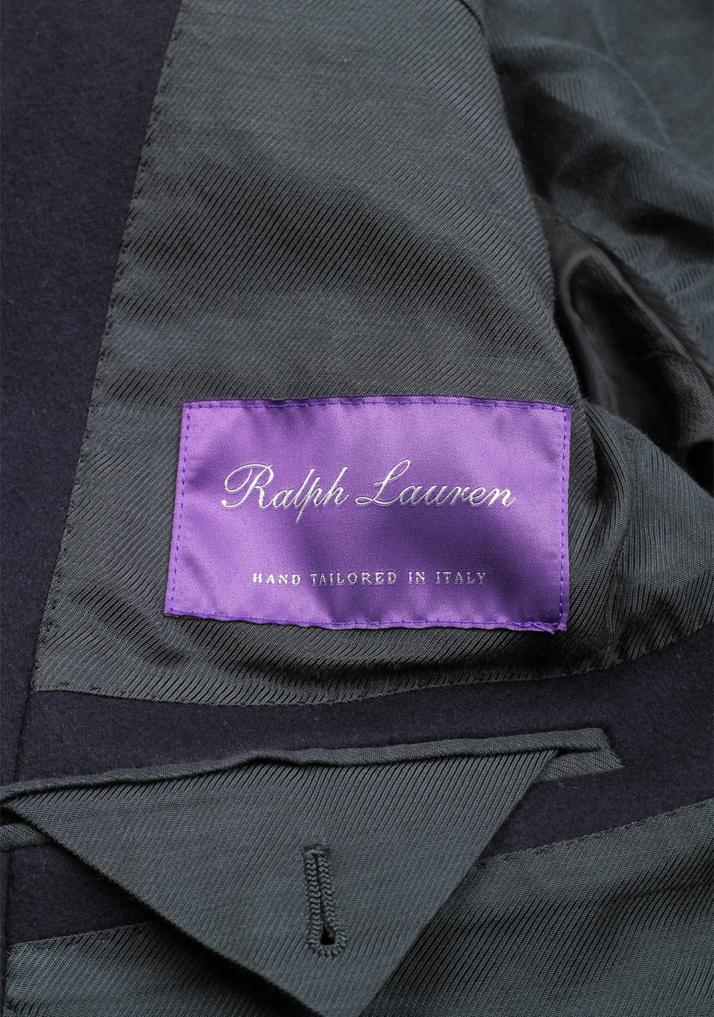 Ralph Lauren Purple Label Balmoral Top Coat Size 54 / 44 U.S. | Costume Limité