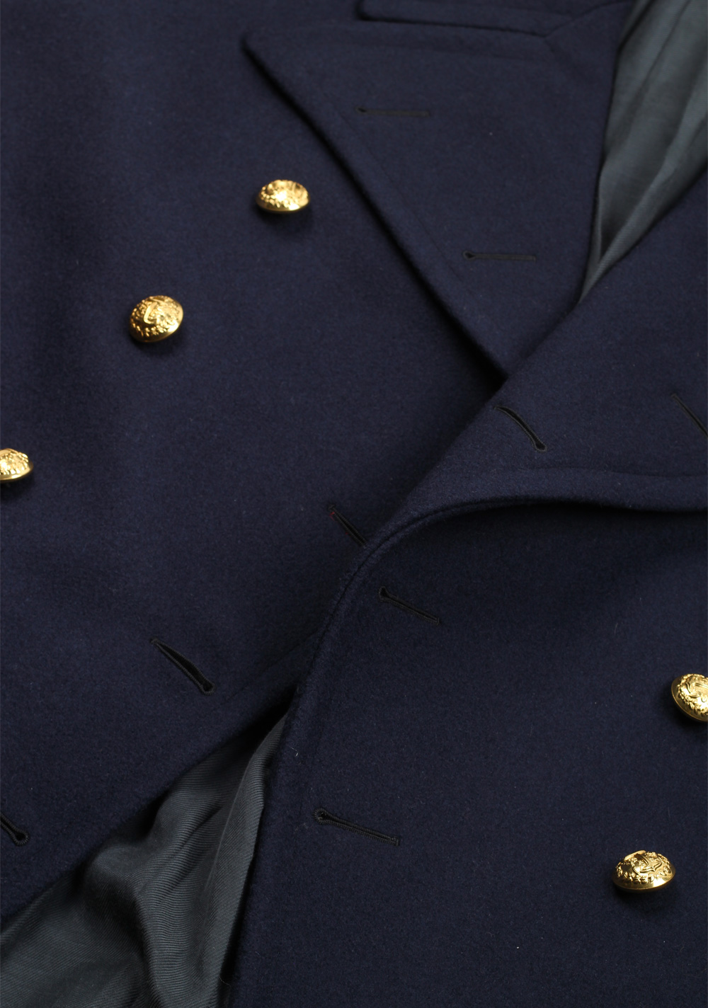 Ralph Lauren Purple Label Admiral Military Coat | Costume Limité