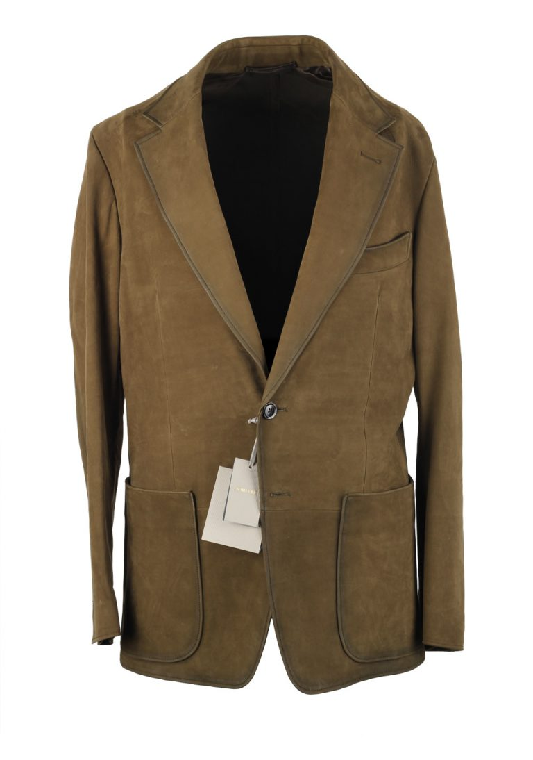 TOM FORD Cashmere Sartorial Leather Suede Jacket Coat - thumbnail | Costume Limité