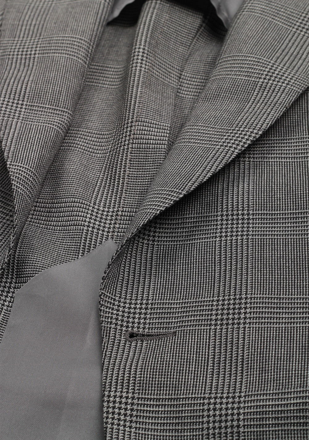 TOM FORD Atticus Gray Checked Suit Size 46 / 36R U.S. | Costume Limité