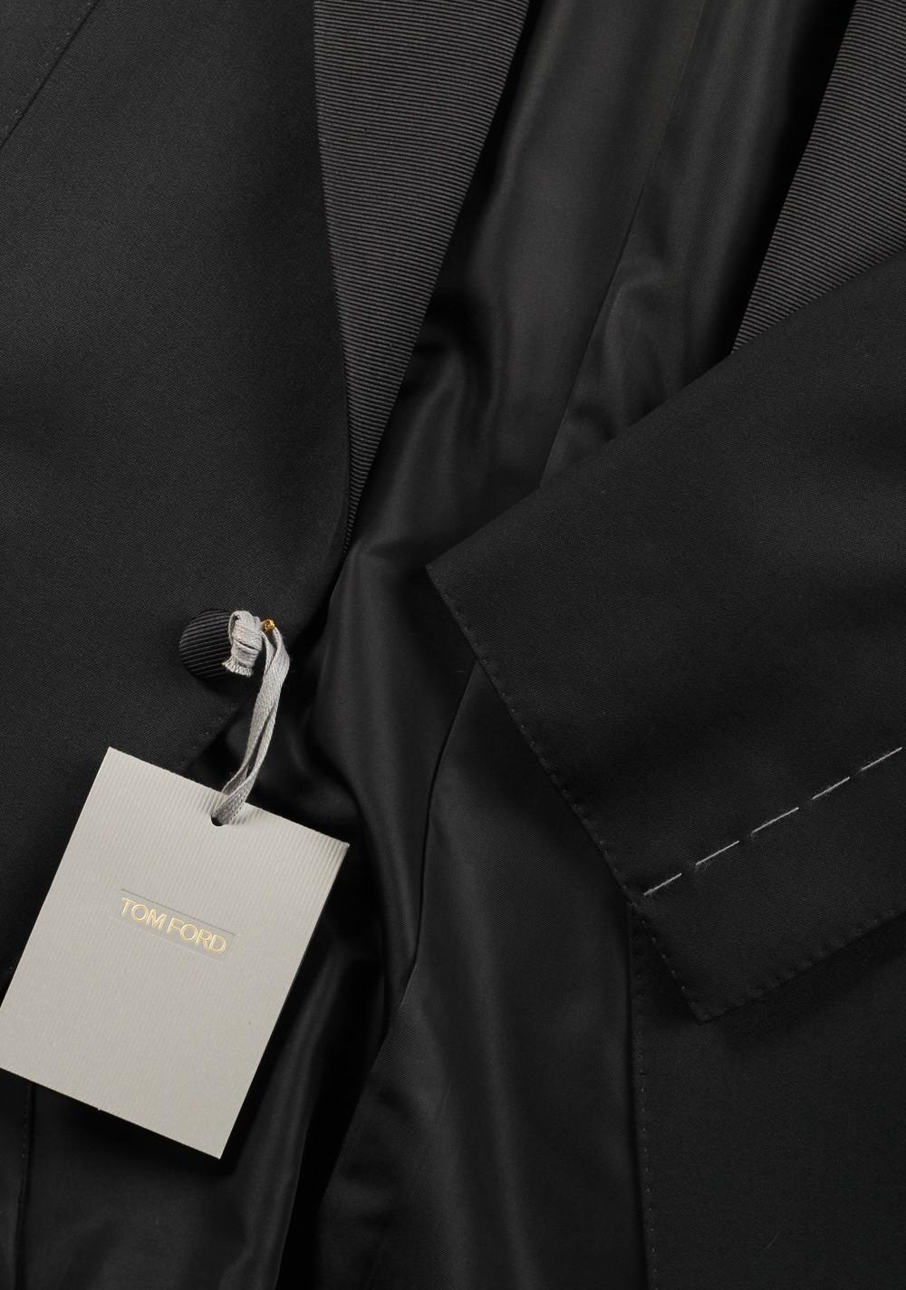 TOM FORD Windsor Black Tuxedo Suit Smoking Size 48C / 38S U.S. Fit A | Costume Limité