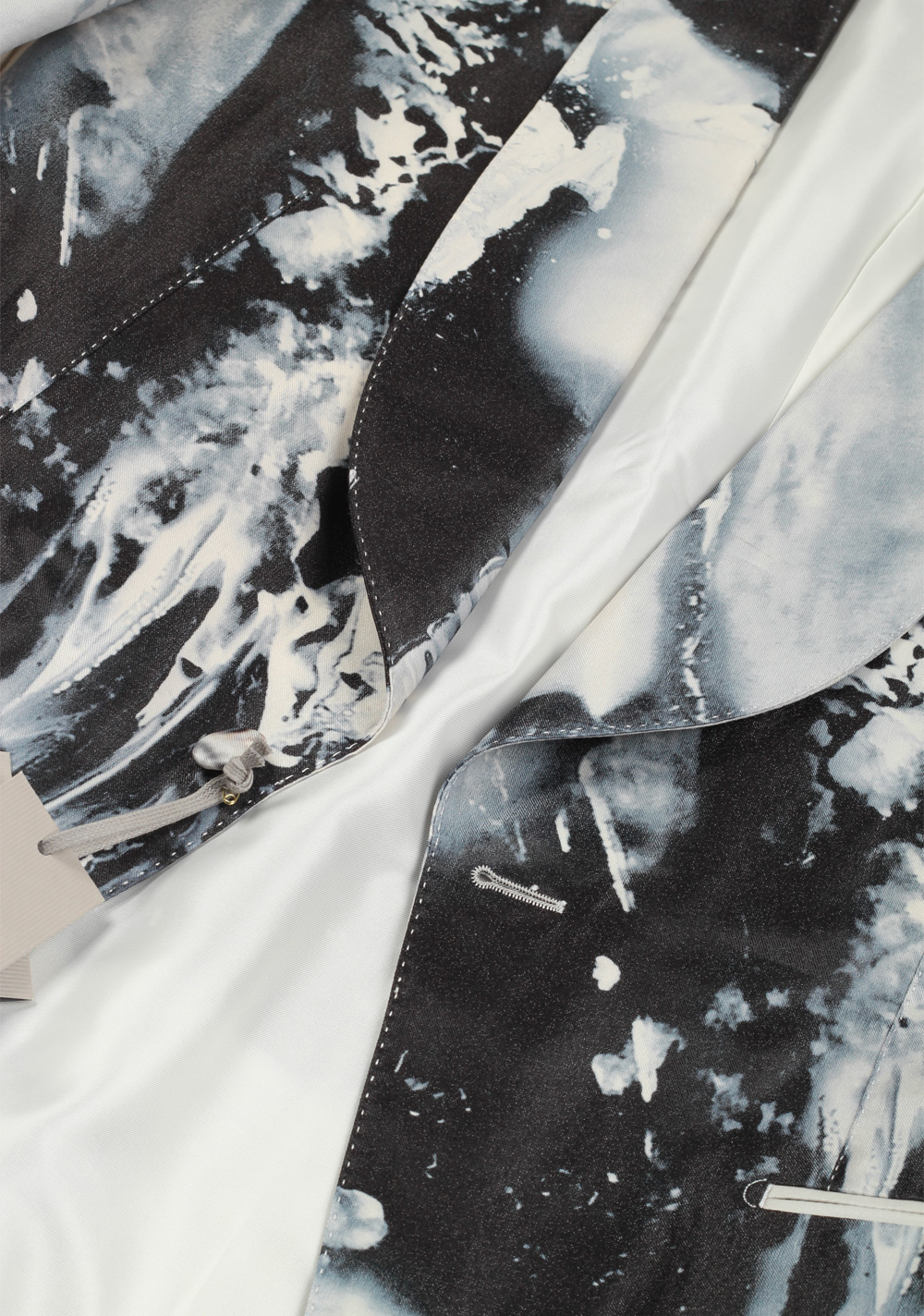 TOM FORD Atticus Painted Swirl Tuxedo Cocktail Dinner Jacket Size 52 / 42R U.S. | Costume Limité