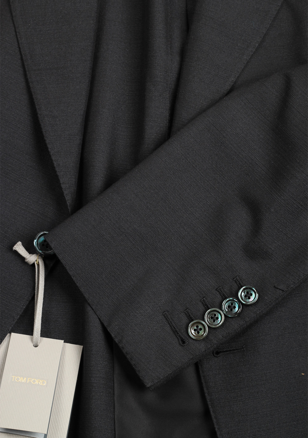 TOM FORD Shelton Gray Sport Coat Size 52 / 42R U.S. In Silk | Costume Limité