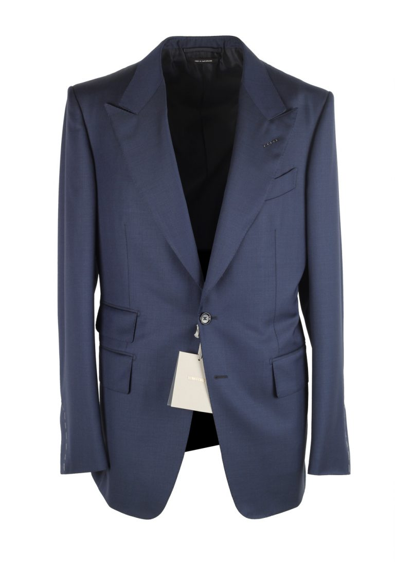 TOM FORD Shelton Solid Blue Suit - thumbnail | Costume Limité