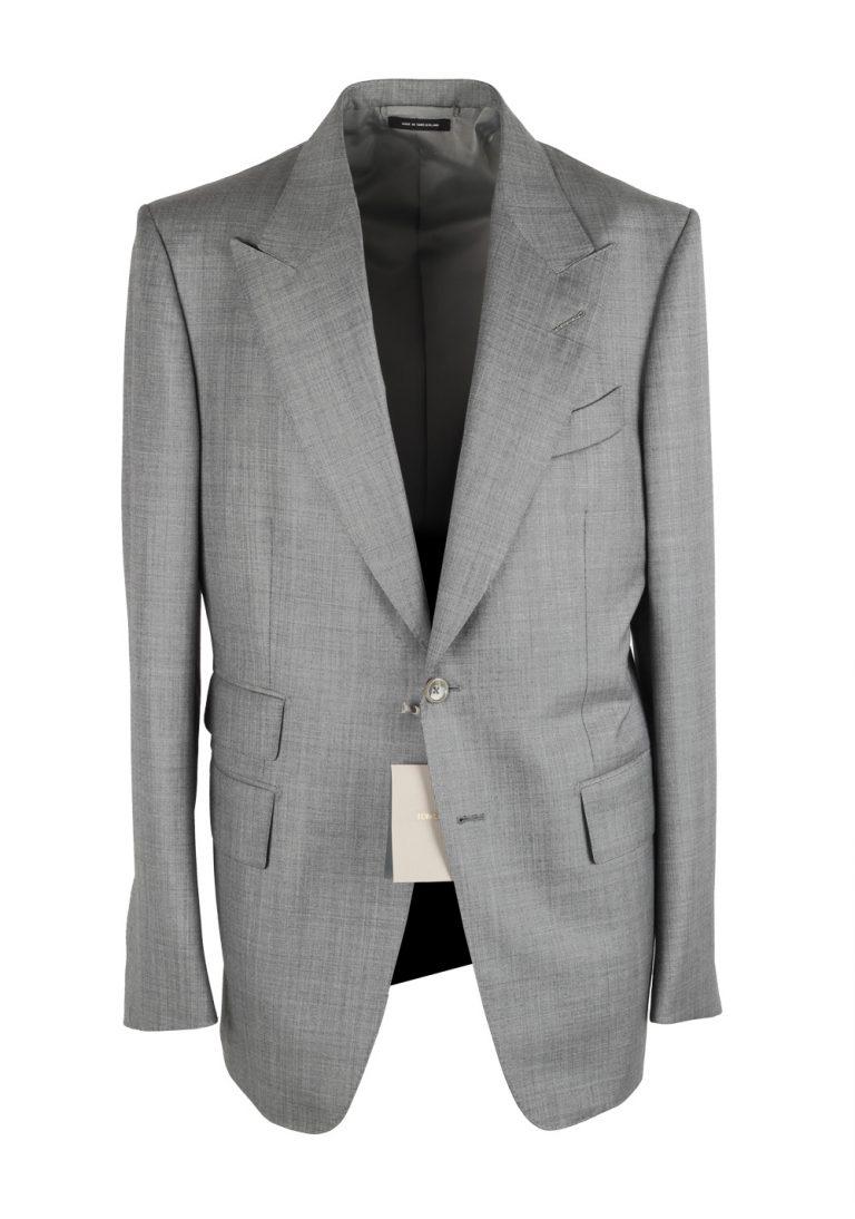 TOM FORD Shelton Solid Gray Suit - thumbnail | Costume Limité