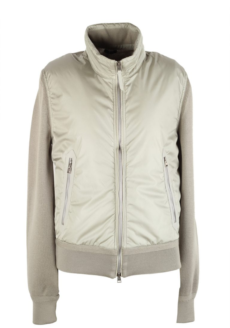 TOM FORD Beige 2020 James Bond Spectre Bomber Jacket - thumbnail | Costume Limité