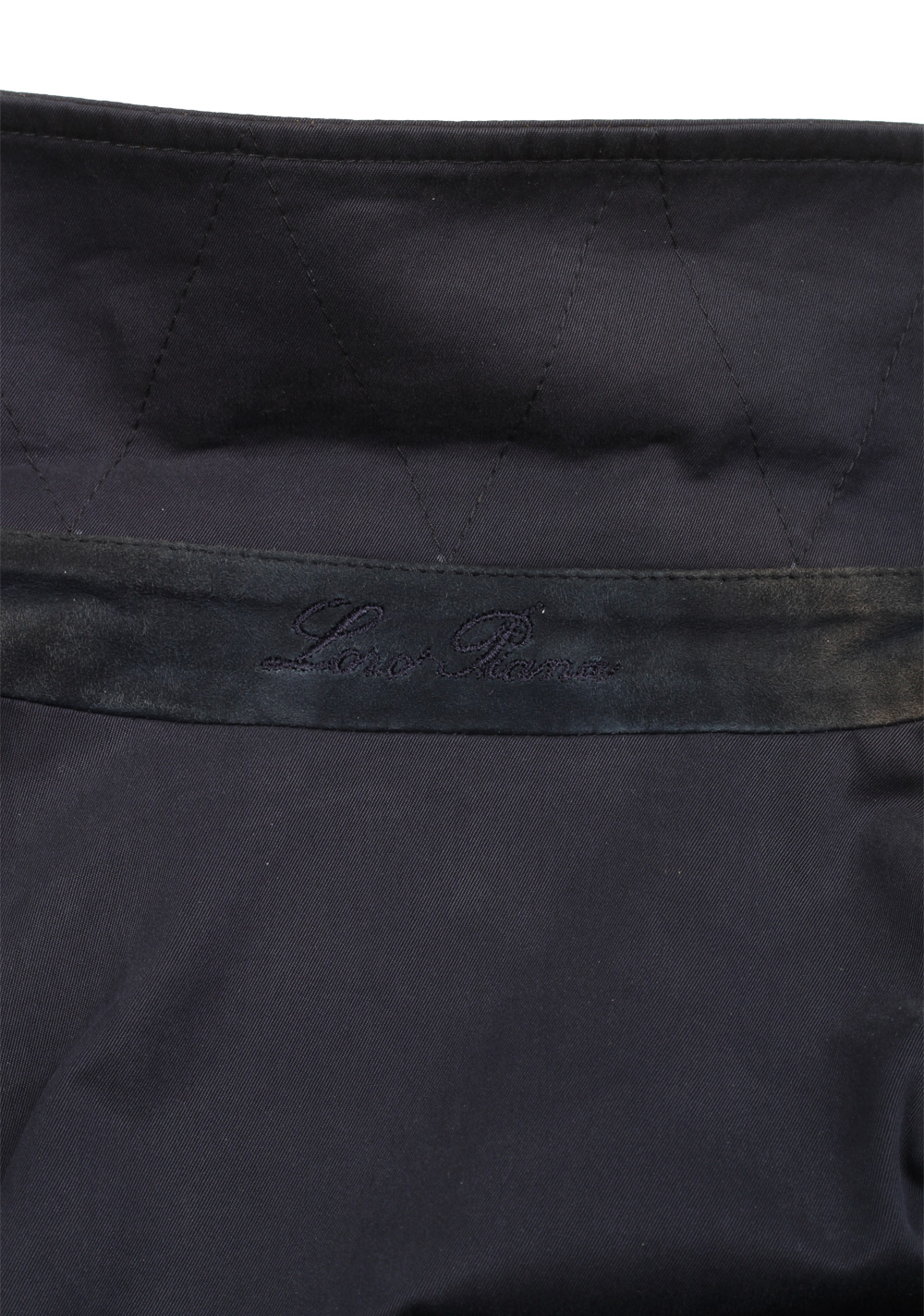 Loro Piana Blue Double Breasted Coat Size L / 42 U.S. Outerwear | Costume Limité