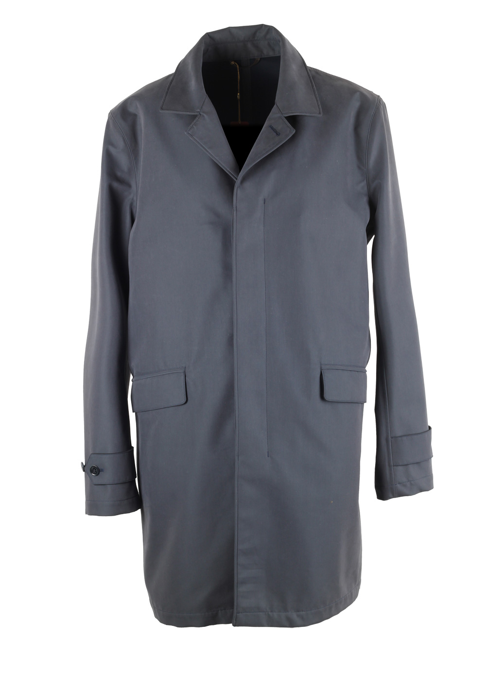Loro Piana Blue Storm System City Trench Coat | Costume Limité