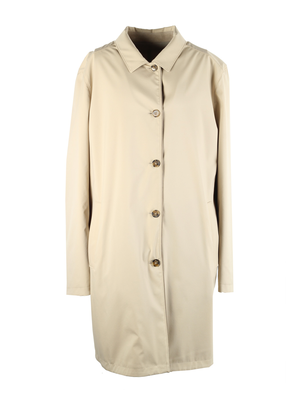 Loro Piana Beige Reversible City Waterfall Green System Rain Coat | Costume Limité