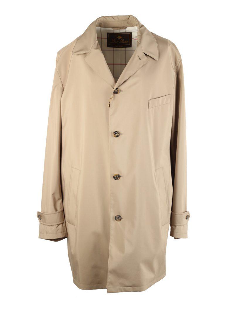 Loro Piana Beige Storm System Travel Rain Coat Size 58 / 48. U.S.  Outerwear - thumbnail | Costume Limité