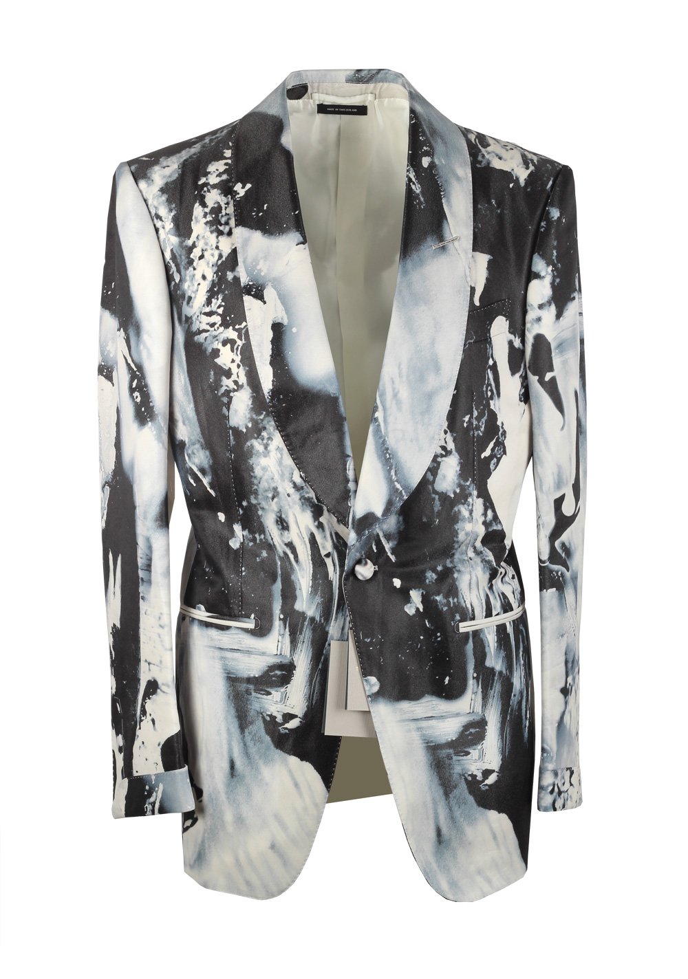 TOM FORD Atticus Painted Swirl Tuxedo Cocktail Dinner Jacket | Costume Limité