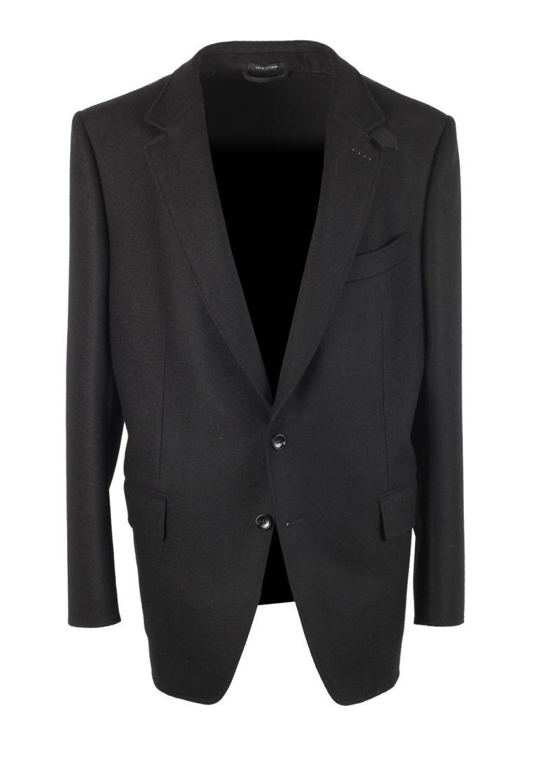 TOM FORD Atticus Black Sport Coat Size 56 / 46R U.S. In Wool - thumbnail | Costume Limité