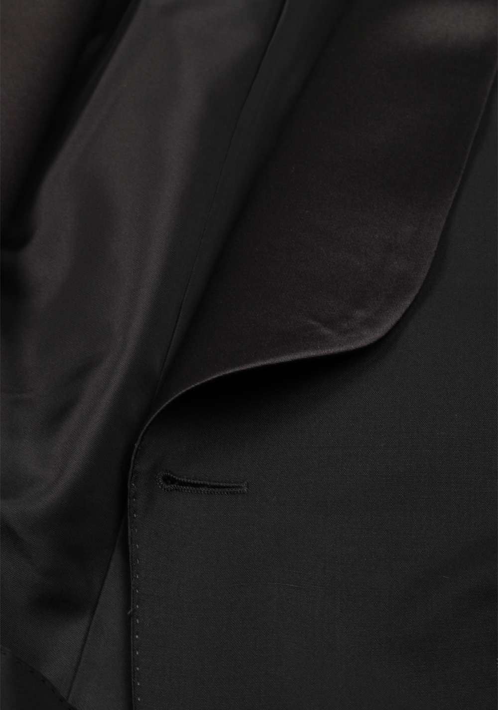 TOM FORD O'Connor Black Shawl Collar Tuxedo Suit Size 56 / 46R Fit Y | Costume Limité