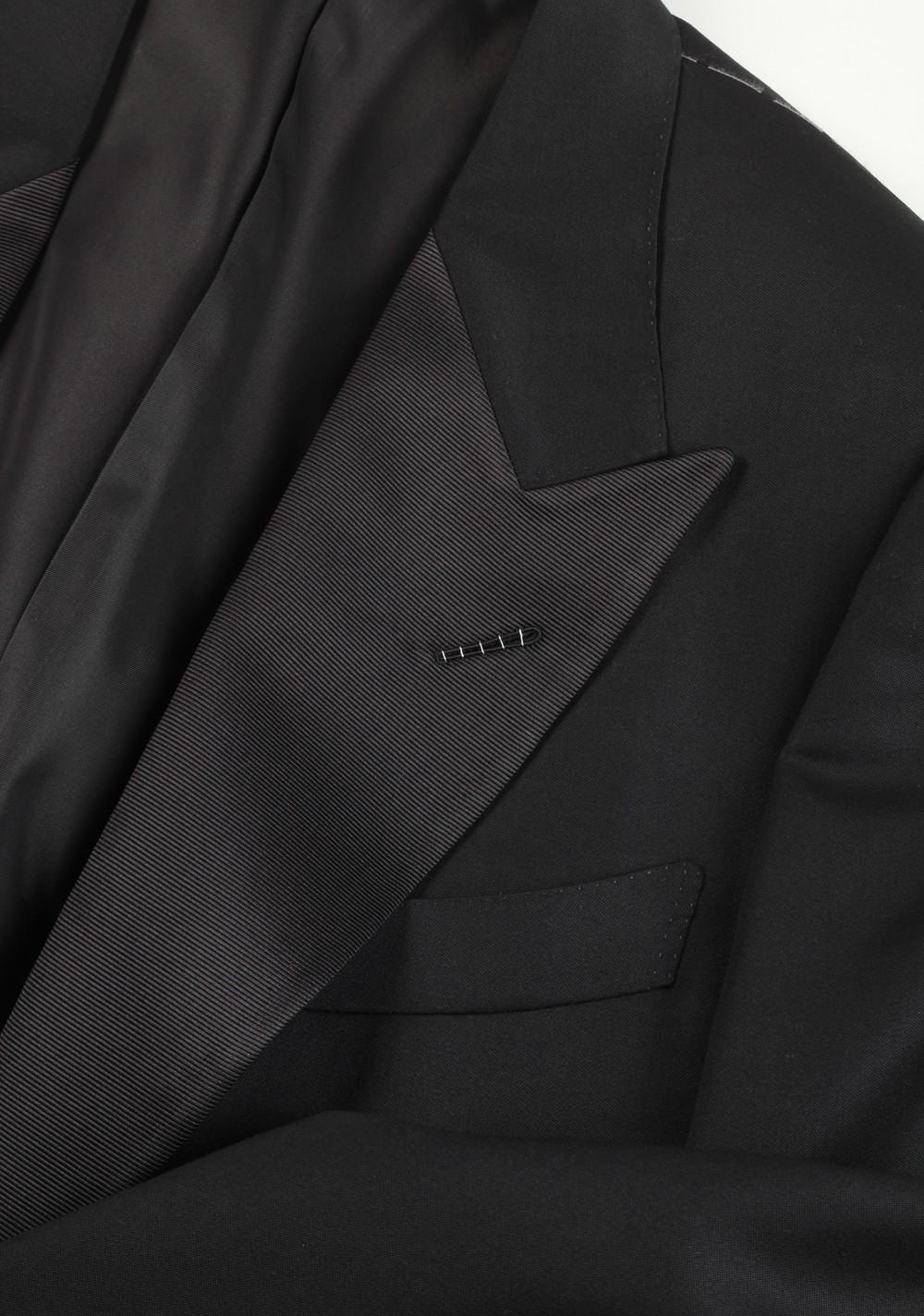TOM FORD Windsor Black Tuxedo Smoking Suit Size 62L / 52L U.S. Base A | Costume Limité