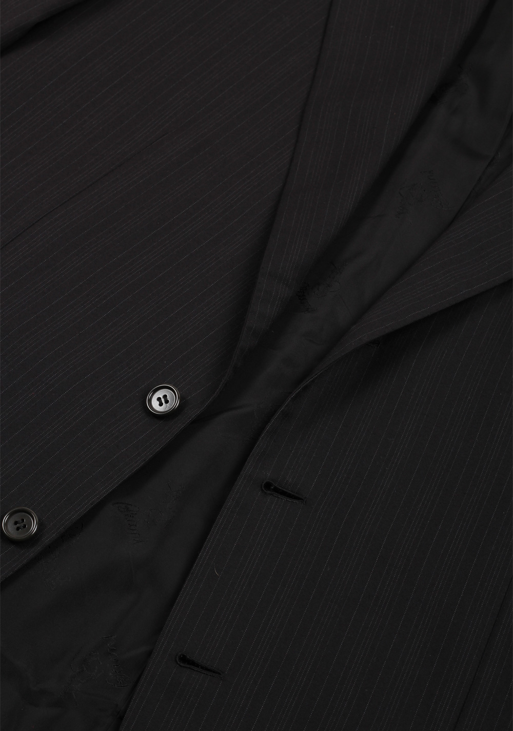 Brioni Colosseo Charcoal Suit Size 50 / 40R U.S. In Wool Super 200s | Costume Limité