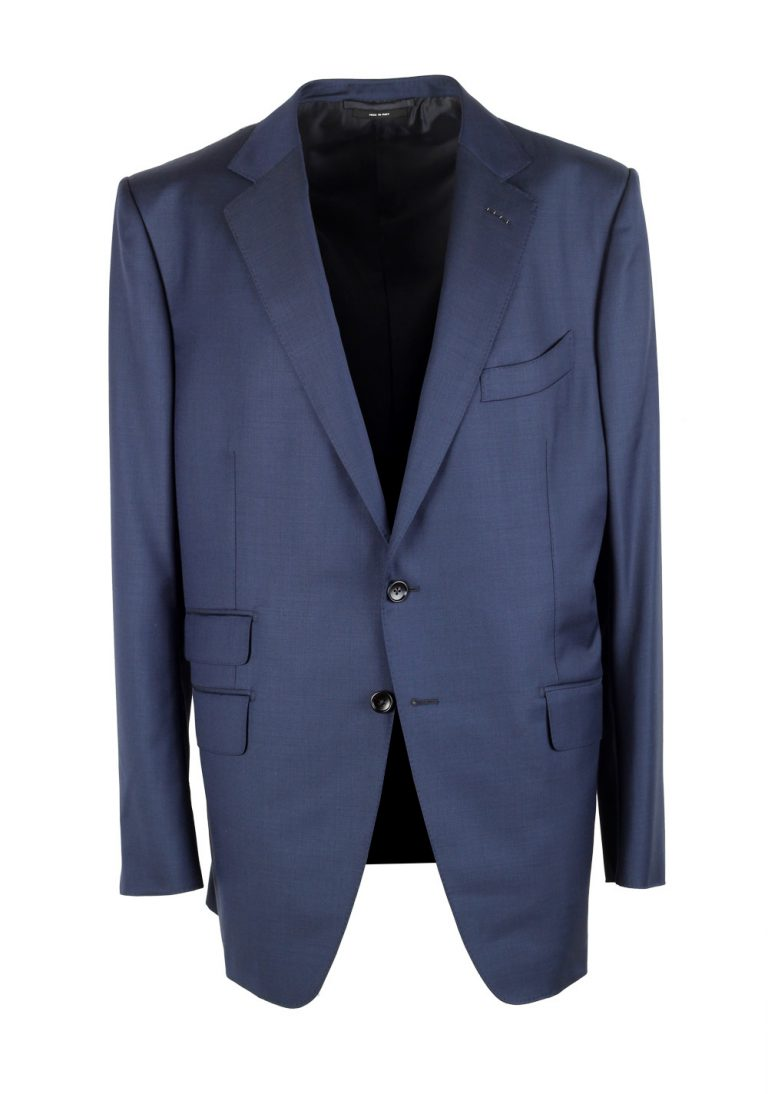 TOM FORD O'Connor Blue Suit Size 56 / 46R U.S. Wool Fit Y - thumbnail | Costume Limité