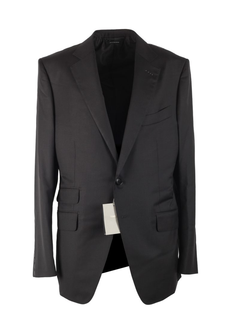 TOM FORD O'Connor Black Suit Size 48 / 38R U.S. In Wool Fit Y - thumbnail | Costume Limité