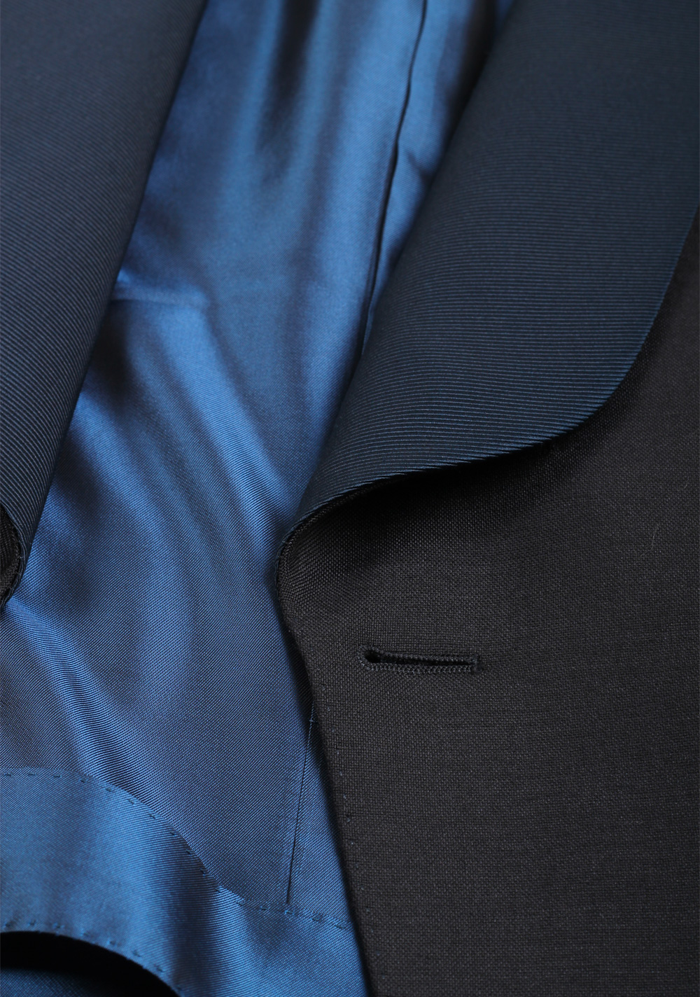 TOM FORD O'Connor Blue Tuxedo Suit Smoking Size 48C / 38S U.S. Fit Y In Mohair Cashmere   Costume Limité