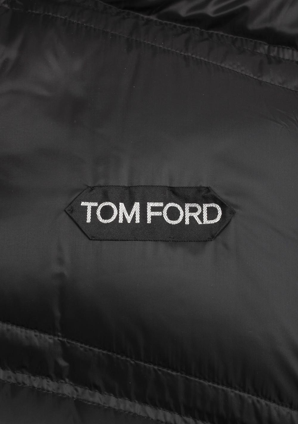 TOM FORD Blue Black Lamb Suede Gilet Vest | Costume Limité