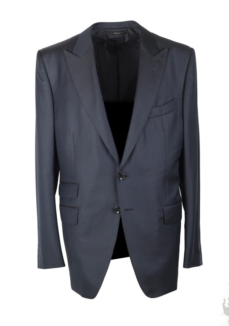 TOM FORD O'Connor Blue Suit Size 54 / 44R U.S. Wool Fit Y - thumbnail | Costume Limité