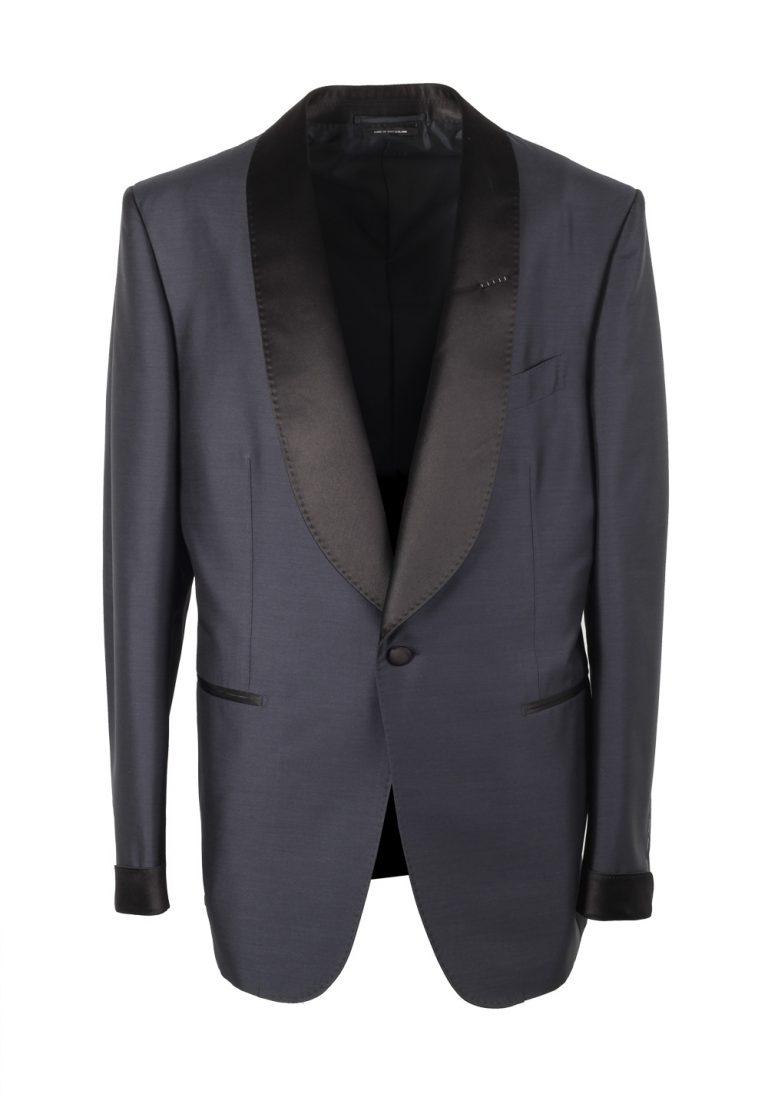 TOM FORD Shelton Midnight Blue Tuxedo Smoking Suit Size 54 / 44R U.S. - thumbnail | Costume Limité