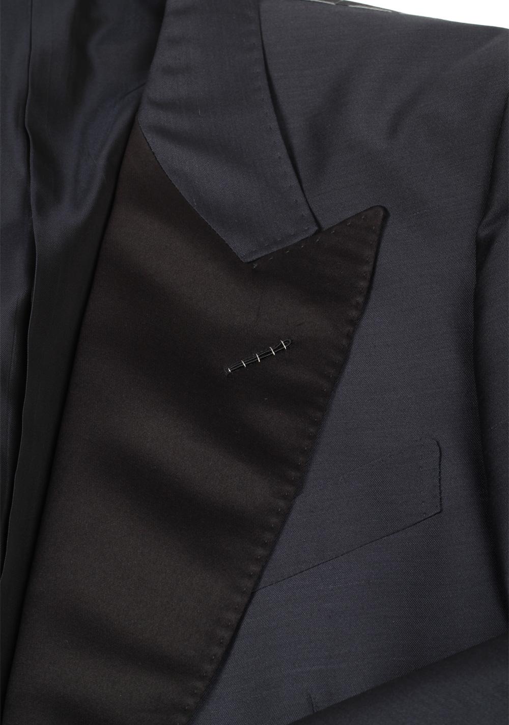 TOM FORD Shelton Midnight Blue Tuxedo Smoking Suit Size 52 / 42R U.S. | Costume Limité