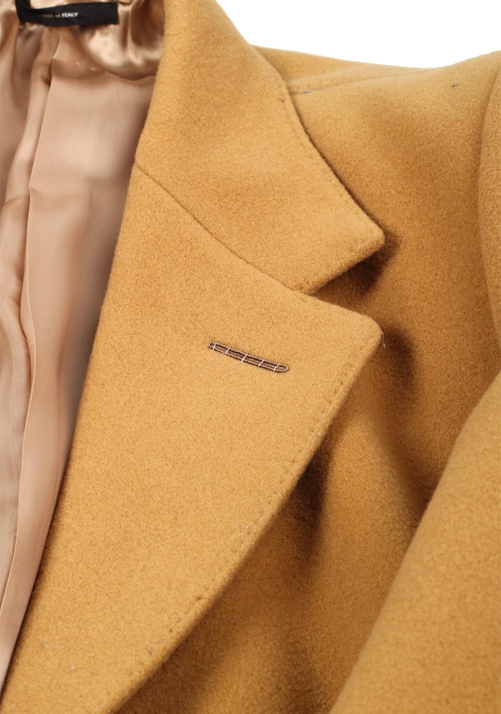 TOM FORD Beige Camel Coat Size 52 / 42R U.S. Outerwear | Costume Limité