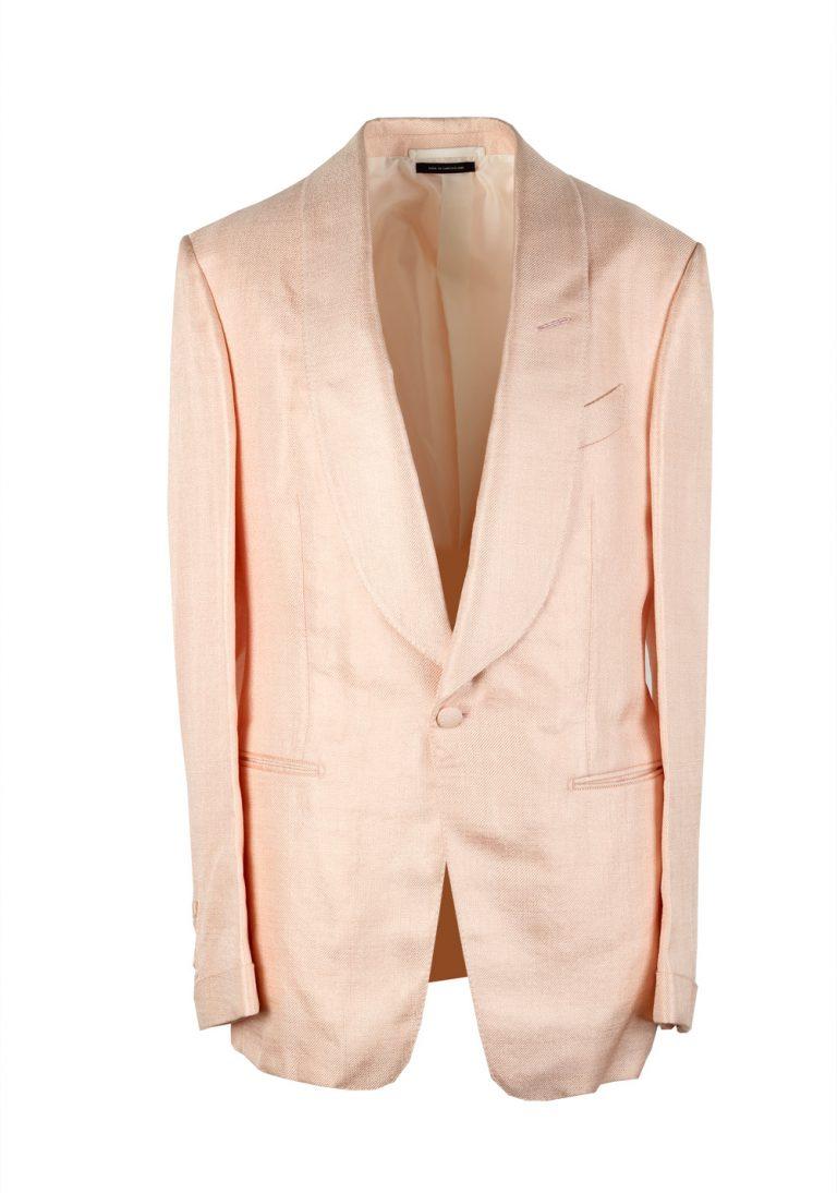 TOM FORD Shelton Salmon Sport Coat Tuxedo Dinner Jacket Size Size 48 / 38R U.S. - thumbnail | Costume Limité