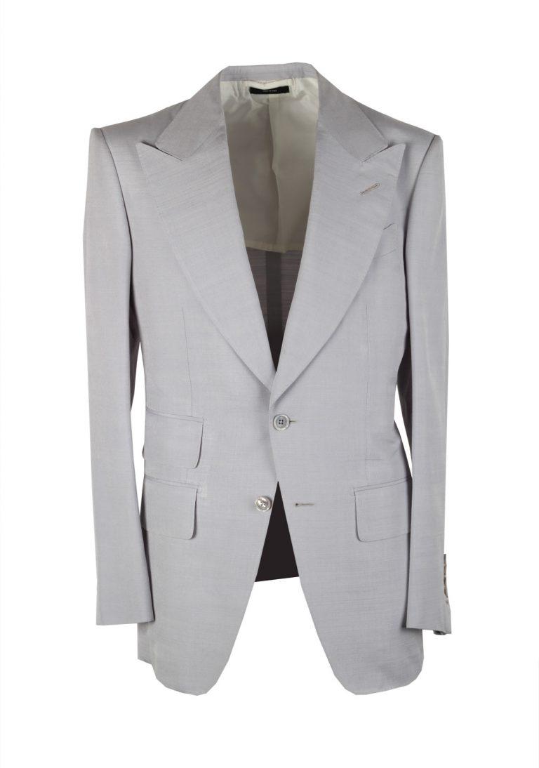TOM FORD Atticus Lavender Suit Size 46 / 36R U.S. In Silk - thumbnail | Costume Limité