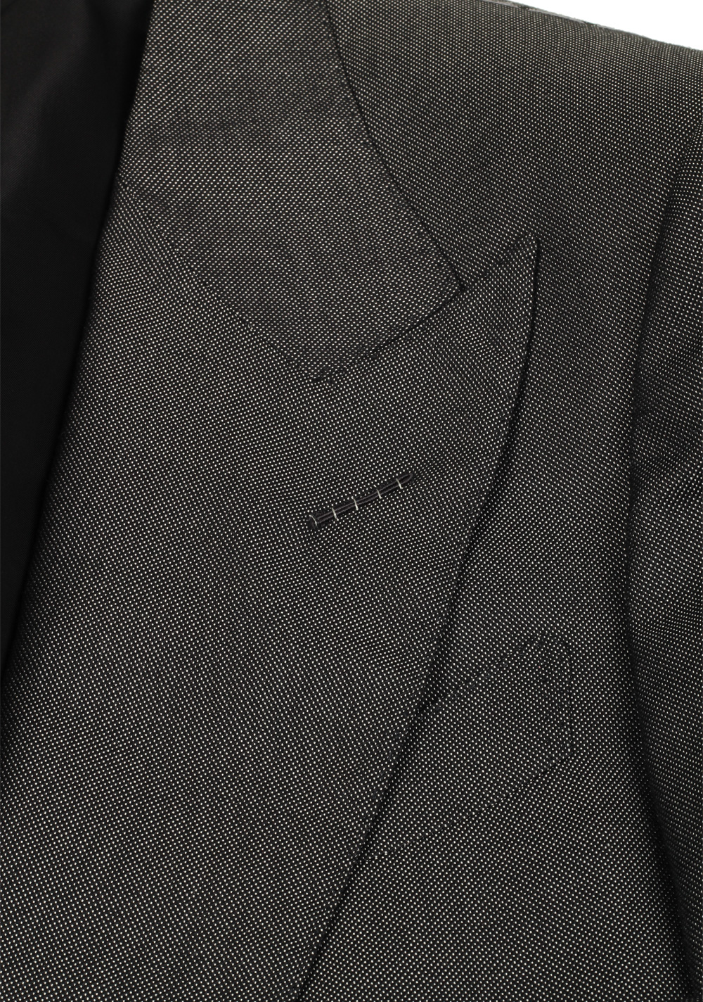 TOM FORD Buckley Gray Suit Size 46 / 36R U.S. Base V | Costume Limité