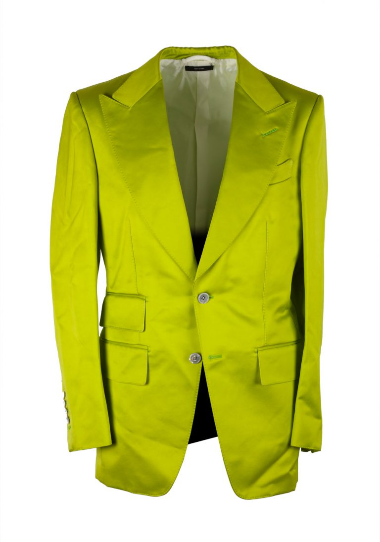 TOM FORD Buckley Green Suit Size 46 / 36R U.S. Base V - thumbnail | Costume Limité