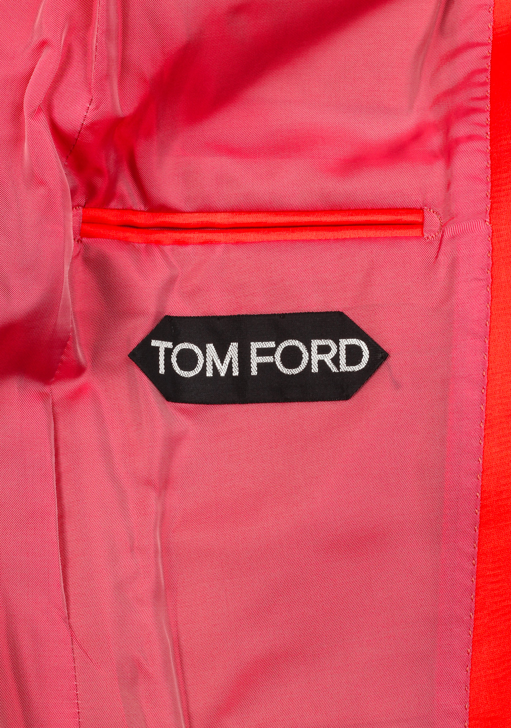 TOM FORD Basic Base M Red Suit Size 46 / 36R U.S.   Costume Limité