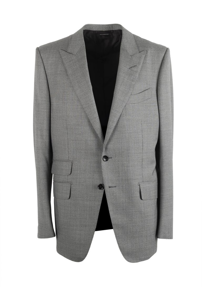 TOM FORD O'Connor Gray Suit Size 52 / 42R U.S. Fit Y - thumbnail | Costume Limité