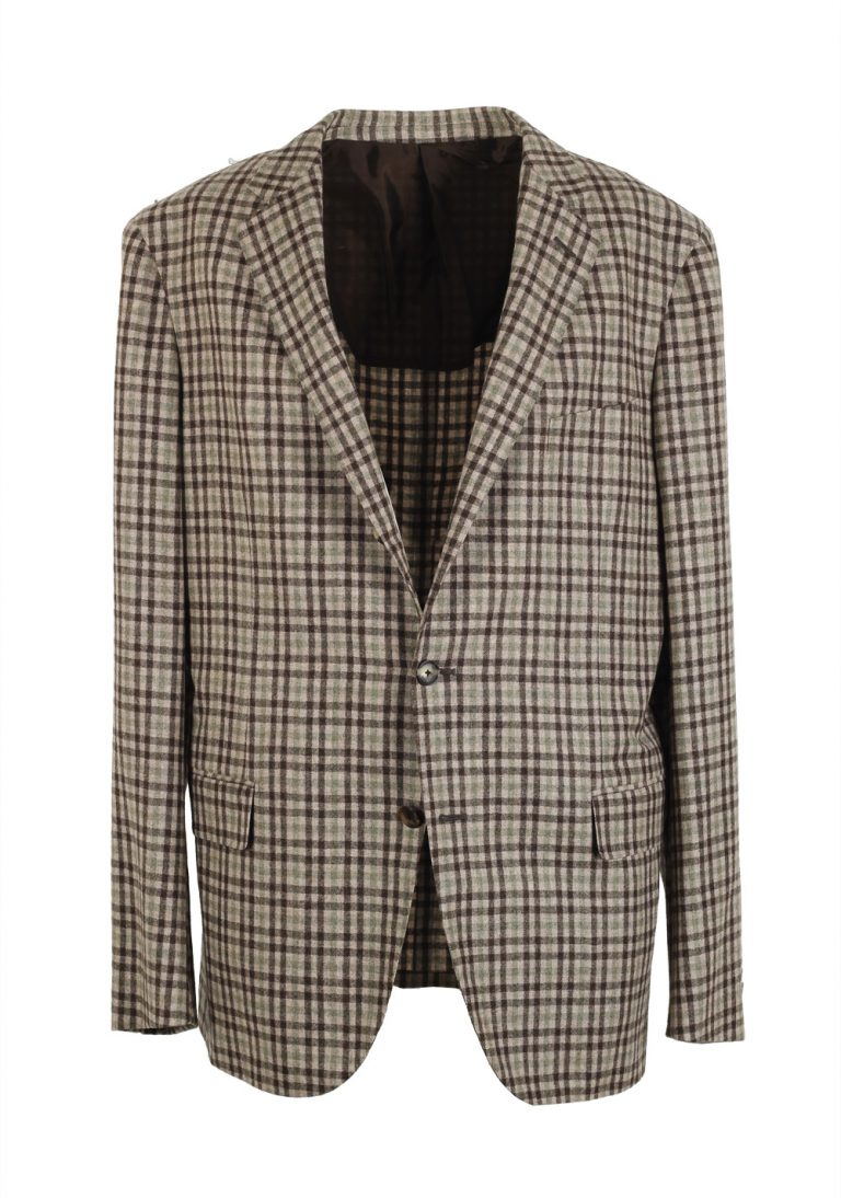 Caruso Sport Coat Size 54 / 44R U.S. Wool Cashmere - thumbnail | Costume Limité