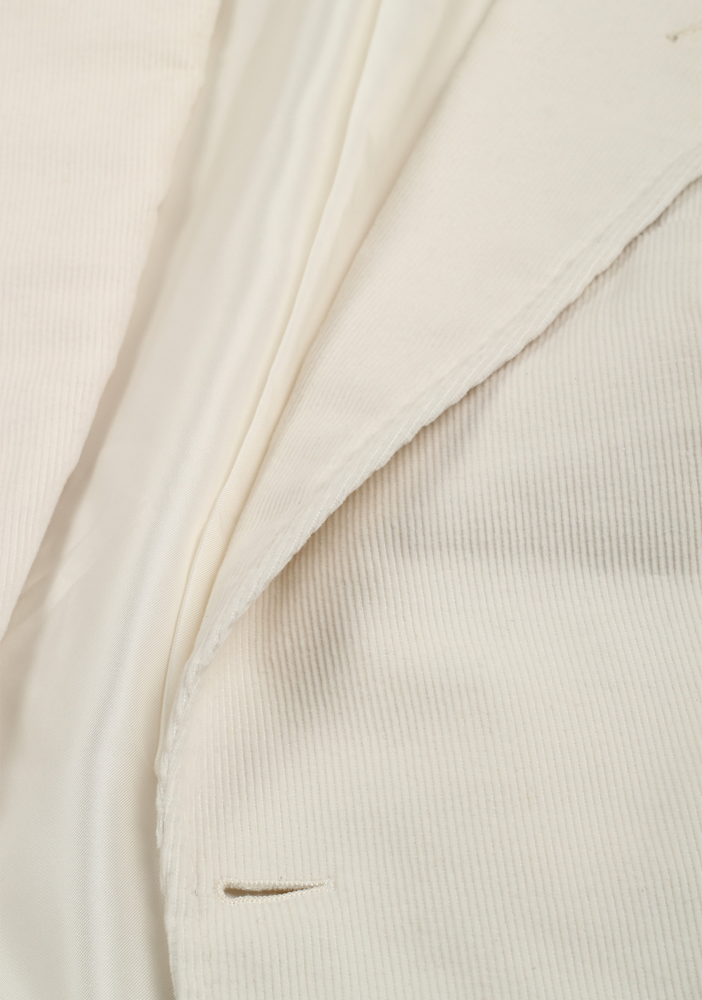 TOM FORD Shelton Off White Sport Coat Size 48 / 38R U.S. In Cotton Linen   Costume Limité