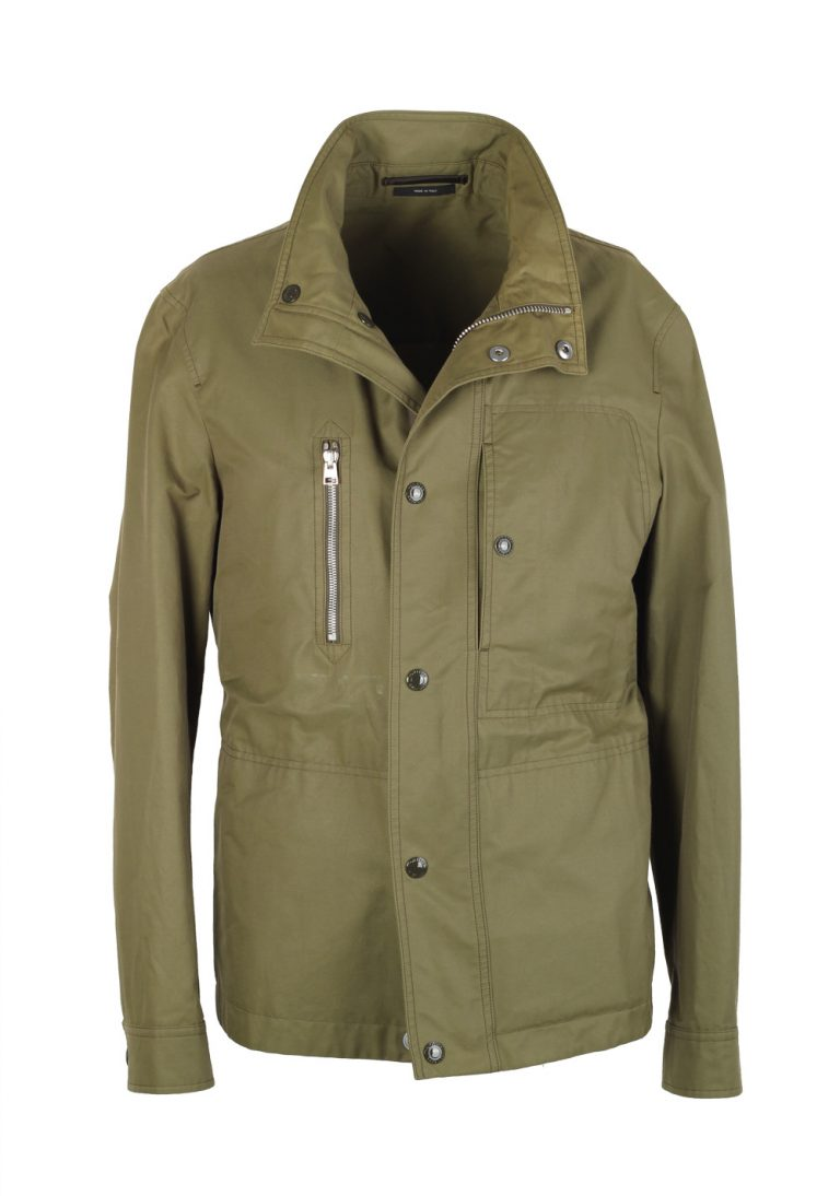 TOM FORD Green Field Jacket Coat Size 48 / 38R U.S. Outerwear - thumbnail | Costume Limité