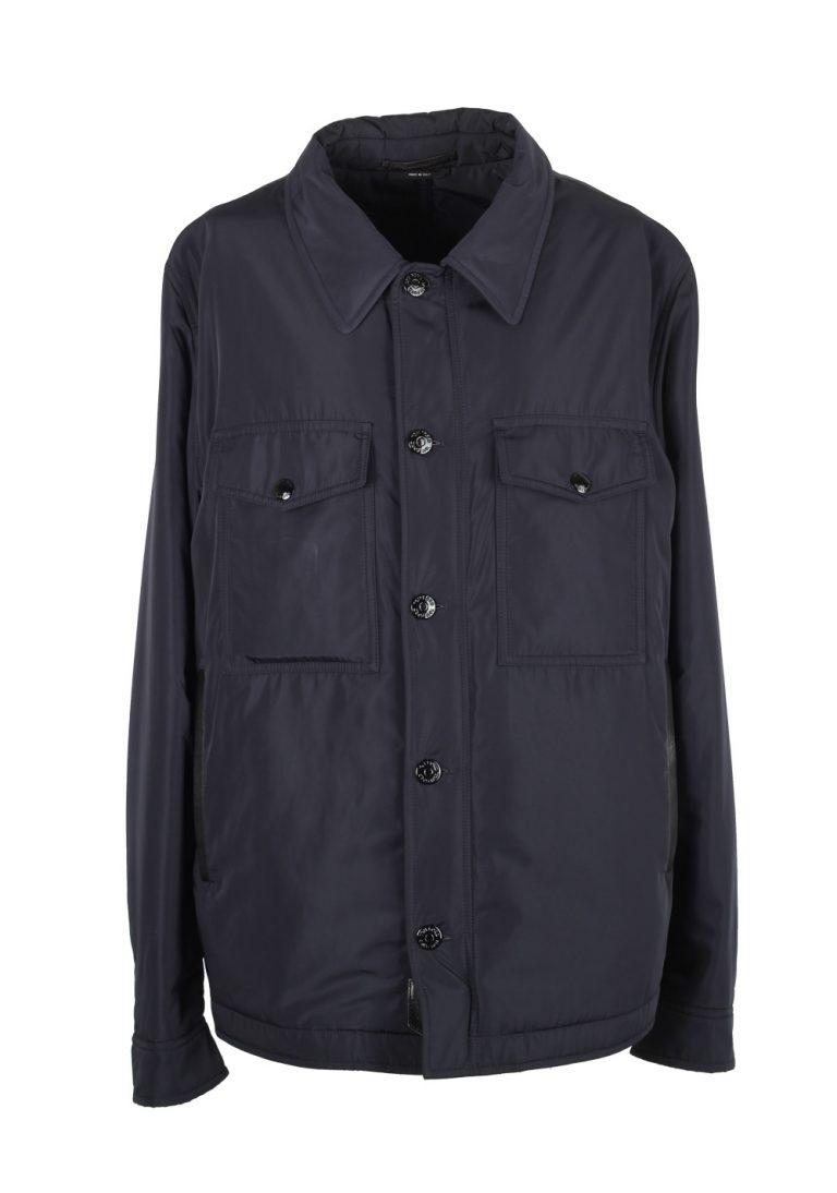 TOM FORD Blue Jacket Coat Size 52 / 42R U.S. Outerwear - thumbnail | Costume Limité