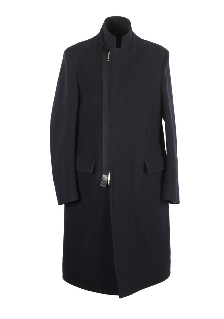 TOM FORD Blue Over Coat Size 48 / 38R U.S. Outerwear - thumbnail | Costume Limité