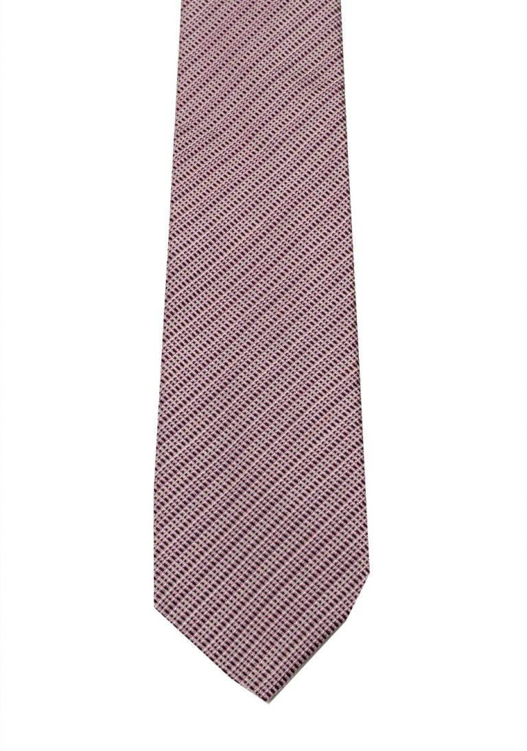 TOM FORD Patterned Pink Tie In Silk - thumbnail | Costume Limité
