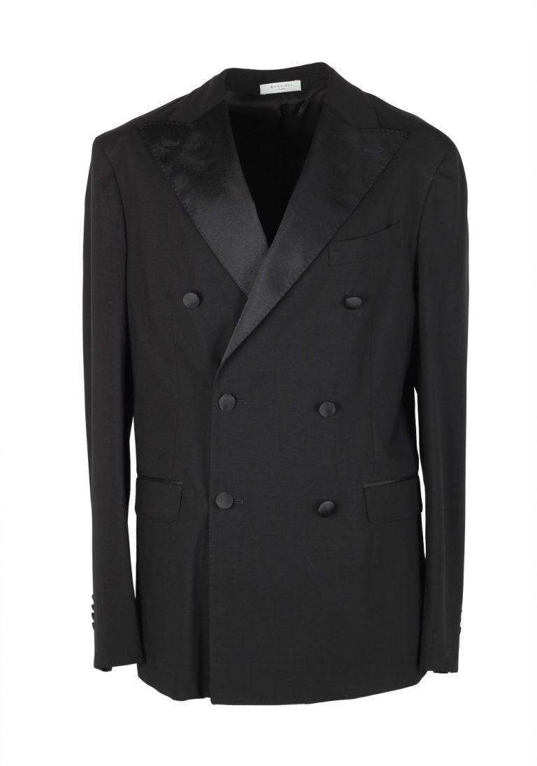 Boglioli K Jacket Black Tuxedo Suit Size 48 / 38R U.S. - thumbnail | Costume Limité