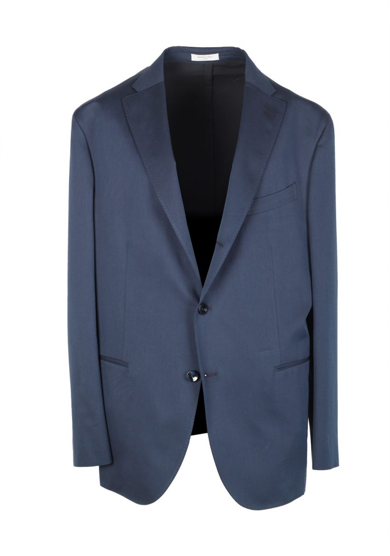 Boglioli K Jacket Blue Suit Size 56 / 46R U.S. - thumbnail | Costume Limité